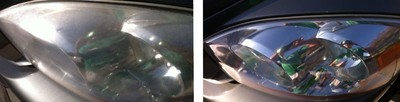 CarWashVentura-Headlight-Restoration - Have your headlights turned yellow? Or look iced over? We do restorations on headlights and even dull taillights! From Main St to Victoria Ave, with our headlight restoration service you can drive through Ventura at night.